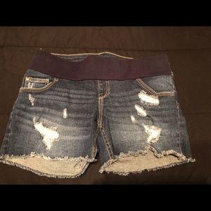 Jessica Simpson maternity shorts size medium